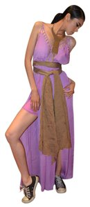 iconixhaus Jumpsuit Wide Leg Pants Lavender