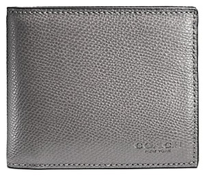 Coach Coach men's COMPACT ID Wallet (ship via priority mail) (gift box is included)