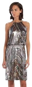 MSK Metallic Holiday Dress