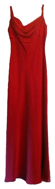 Thea Dora Merlot Empire Waiste Formal Mid-length Cocktail Dress Size 0 (XS) Thea Dora Merlot Empire Waiste Formal Mid-length Cocktail Dress Size 0 (XS) Image 1