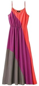 Maxi Dress by Mossimo Supply Co. Color-blocking