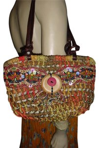 Other Satchel in natural multicolors
