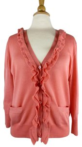 J.Crew Ruffle Romantic Lightweight Cardigan