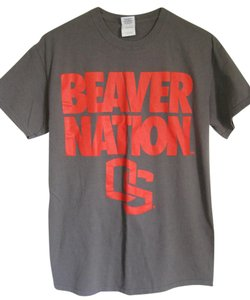 Gildan Osu Beavers Oregon T Shirt Gray