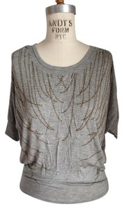 H.I.P. Dolman Sleeves T Shirt heather grey