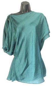 BCBGMAXAZRIA Greek Grecian Top Green