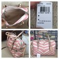 Coach F33765 White/Pink Leather Tote Coach F33765 White/Pink Leather Tote Image 2