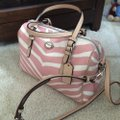 Coach F33765 White/Pink Leather Tote Coach F33765 White/Pink Leather Tote Image 4
