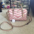 Coach F33765 White/Pink Leather Tote Coach F33765 White/Pink Leather Tote Image 8