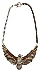 Forever 21 Eagle Statement Necklace
