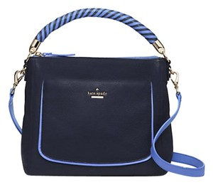 Kate Spade Satchel in Dark Blue & light blue