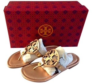 Tory Burch Rose Gold Pink Sandals