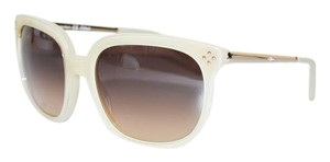Chlo Chloe Womens Square Honey Gold Sunglasses