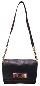 Kate Spade Bow Pebbled Leather Shoulder Bag