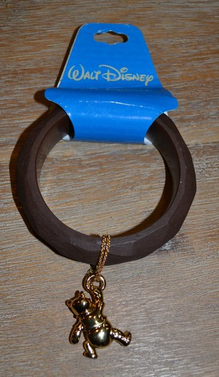 Disney SALE!!! - REDUCED TO SELL Bangle with Gold Plated Winnie the Pooh