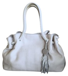Furla Satchel in Cream/ Beige