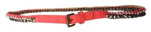 BCBGeneration Pink chain belt size LARGE