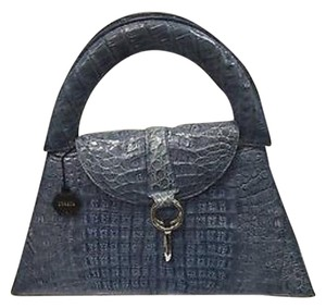 Mario Hernandez Satchel in Blue