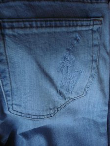 Polo Ralph Lauren Kelly Carpenter Blue Nwt Flare Leg Jeans-Light Wash