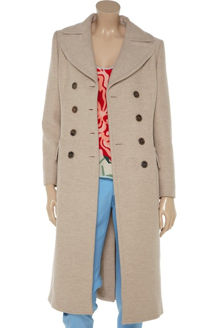 Moschino Double Breasted Wool Coat