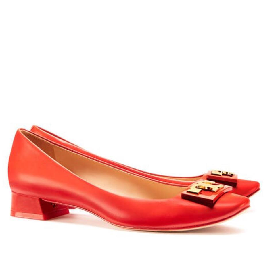 a66aa332be4 Tory Burch Samba Gigi Pumps Size US 7.5 Regular (M