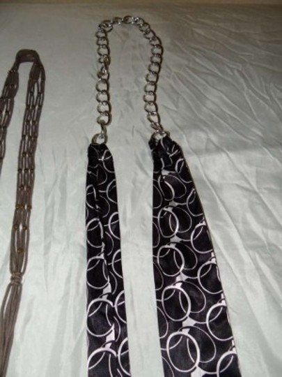 Other Lot of 3 Tie Belts