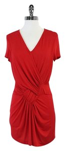 Etro short dress Red Short Sleeve on Tradesy