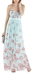 aqua mist combo Maxi Dress by BCBGMAXAZRIA