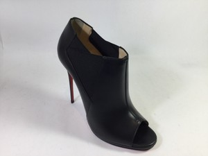 Christian Louboutin Leather 120 Black Boots