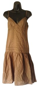 To the Max short dress brown on Tradesy