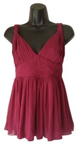 BCBGeneration Small Top purple maroon