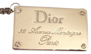 Dior Dior Luggage Tag RARE
