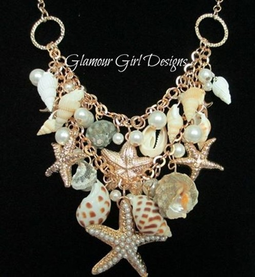 Other Seashell statement necklace