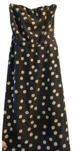 The Limited Polka Dots Strapless Sundress Dress