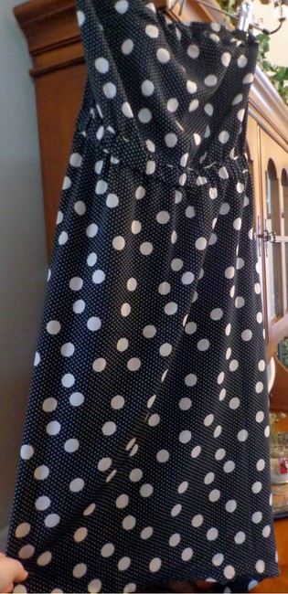 The Limited Polka Dots Strapless Dress