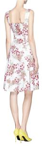 Tory Burch short dress Pink floral on Tradesy