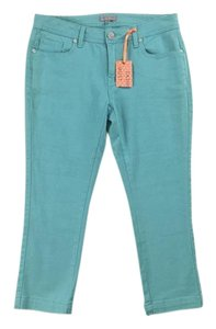 Legend Weekendwear Cropped Twill Stretch Capri/Cropped Denim