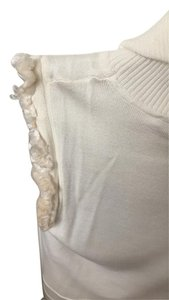 Roberto Cavalli short dress off white on Tradesy