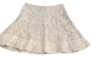 Express Mini Skirt Off-White