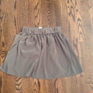 Bar III Mini Skirt Olive Green