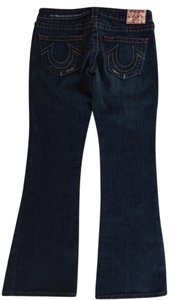 True Religion Straight Dark Rinse Boot Cut Jeans-Dark Rinse