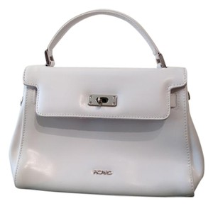 Lucien Piccard Picard Picard Picard Tote in White