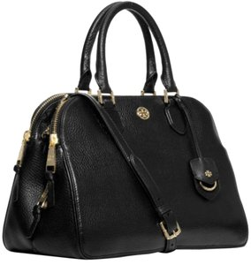 Tory Burch Satchel in black/gold