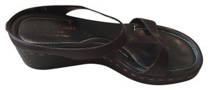 Donald J. Pliner Brown Sandals