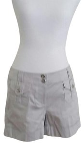 White House | Black Market Dress Shorts Grey
