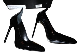 Saint Laurent Patent Black Pumps
