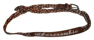 Abercrombie & Fitch Braided Abercrombie Belt