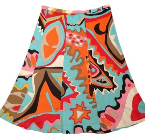 Emilio Pucci Skirt Multi color: bright colors