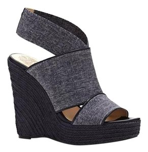 Vince Camuto Madalisa navy Wedges