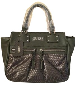 Guess Satchel in Olive Green